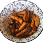 frites de patate douces